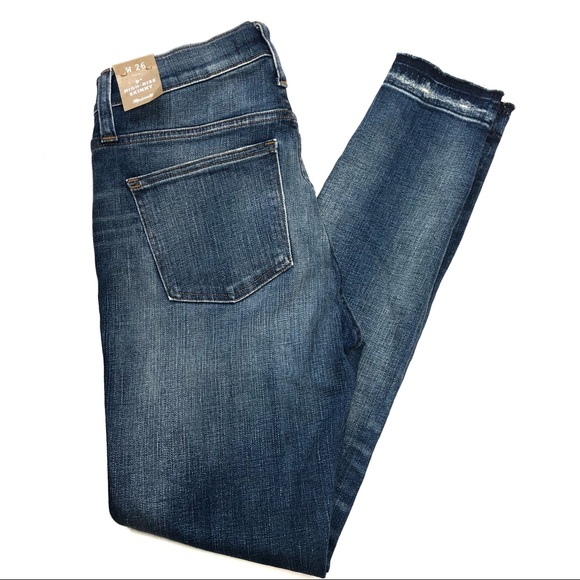 """Madewell 9"""" High Rise Skinny Jeans Deconstructed"""
